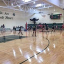 Varsity Volleyball vs. Spellman - 9.16.16 photo album thumbnail 4